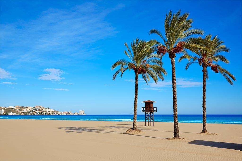 Playa de Cullera.