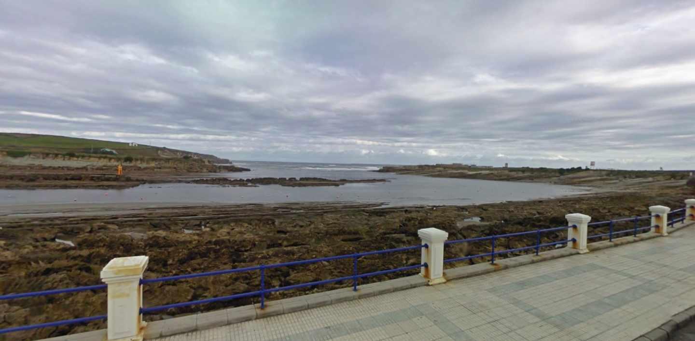 Playa de la Maruca, en Santander.