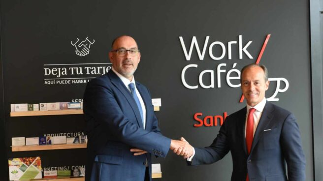 Telefónica y Santander se alían para impulsar el uso del 5G en la banca.