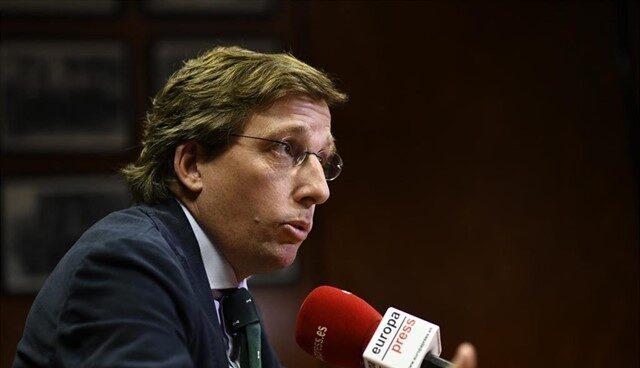El candidato a la alcaldía de Madrid, José Luis Martínez Almeida