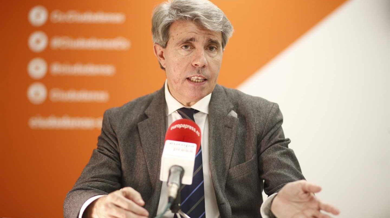 El ex presidente de la Comunidad de Madrid, Ángel Garrido