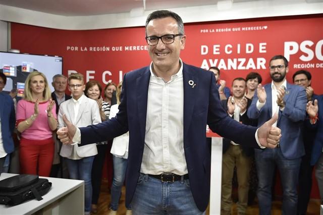 El líder socialista en la Reigón de Murcia, Diego Conesa.