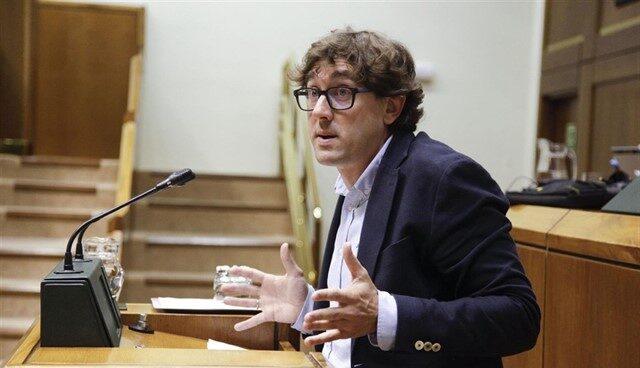 El secretario general del Partido Socialista de Euskadi en Guipúzcoa, Eneko Andueza