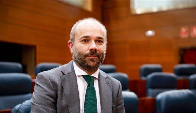 El vicesecretario primero de Ciudadanos en la Asamblea de Madrid, Juan Trinidad