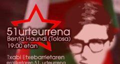 Víctimas del terrorismo se manifestarán en el homenaje al primer asesino de ETA