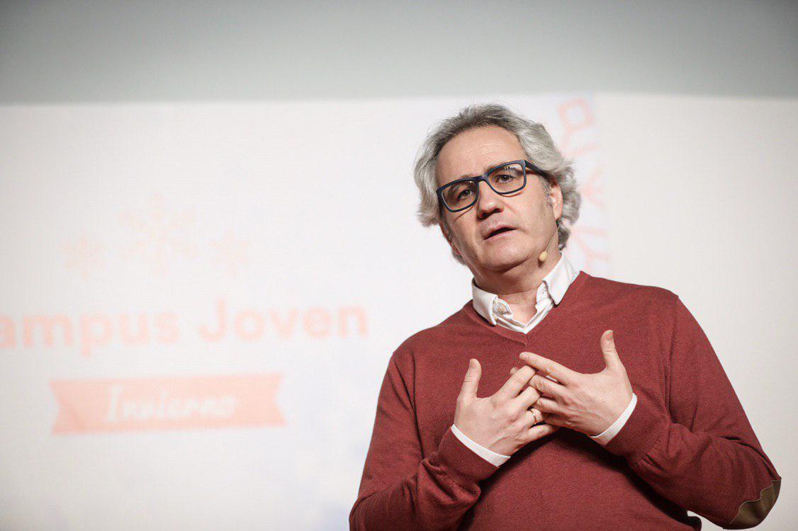 El candidato de Ciudadanos en Navarra, Carlos Pérez Nievas