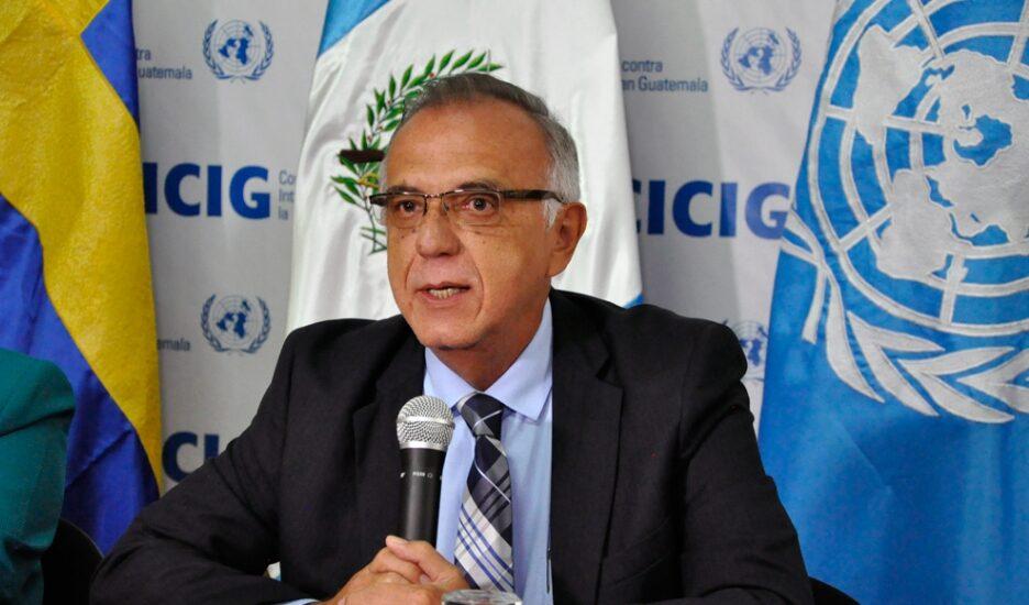 Iván Velásquez, responsable de la Comisión Internacional Contra la Impunidad en Guatemala (CICIG).