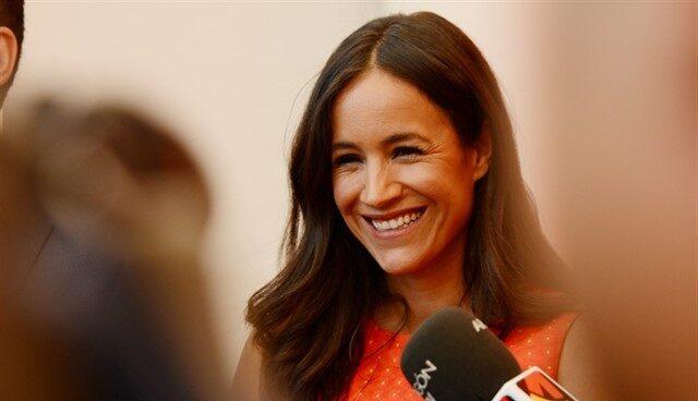 La candidata a la alcaldía de Madrid, Begoña Villacís.