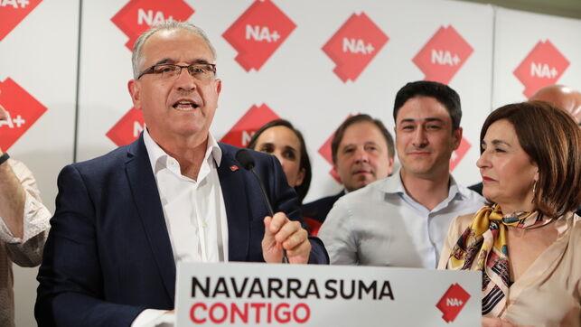 El candidato de Navarra Suma a la alcaldía de Pamplona, Enrique Maya.