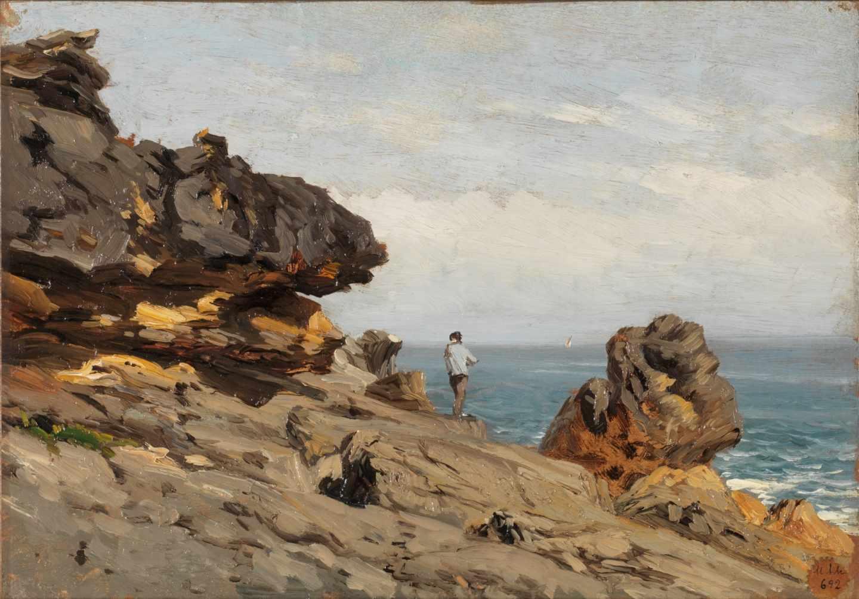 Playa de Carrasipio, Carlos de Haes.
