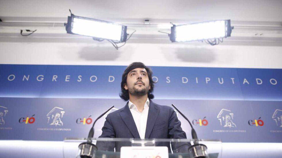 Toni Roldán anuncia su marcha de Ciudadanos.