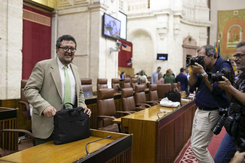 Francisco Serrano, líder de Vox en Andalucía.