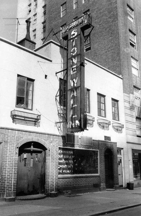 El bar neoyorquino Stonewall Inn en septiembre de 1969