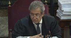 El fiscal Zaragoza, en el juicio del procés.