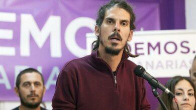 El Supremo propone juzgar al diputado de Podemos Alberto Rodríguez por propinar una patada a un policía
