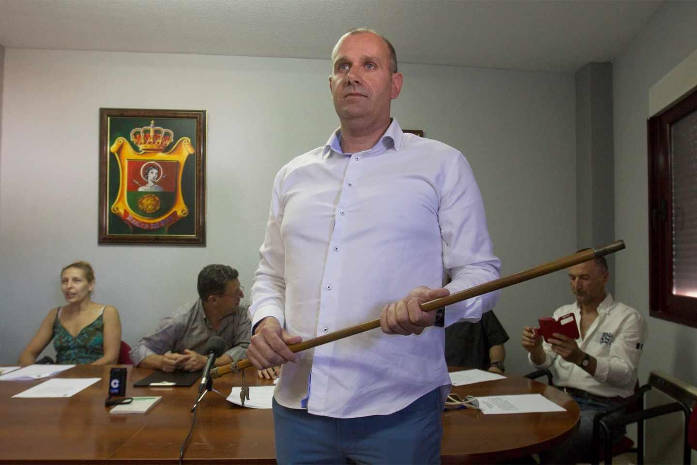 David García Montes, alcalde de Vox en Roales del Pan (Zamora) gracias a los votos de PP y PSOE.