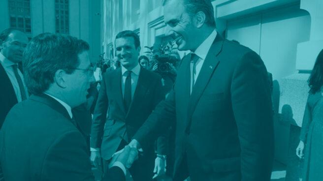 José Luis Martínez Almeida y Javier Ortega Smith.