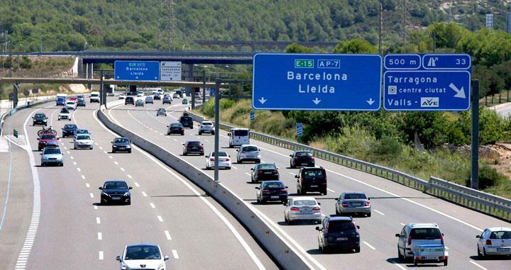 Las autopistas serán más caras a partir de enero, menos las rescatadas por el Gobierno