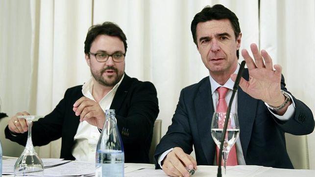 Asier Antona y José Manuel Soria en una imagen de archivo