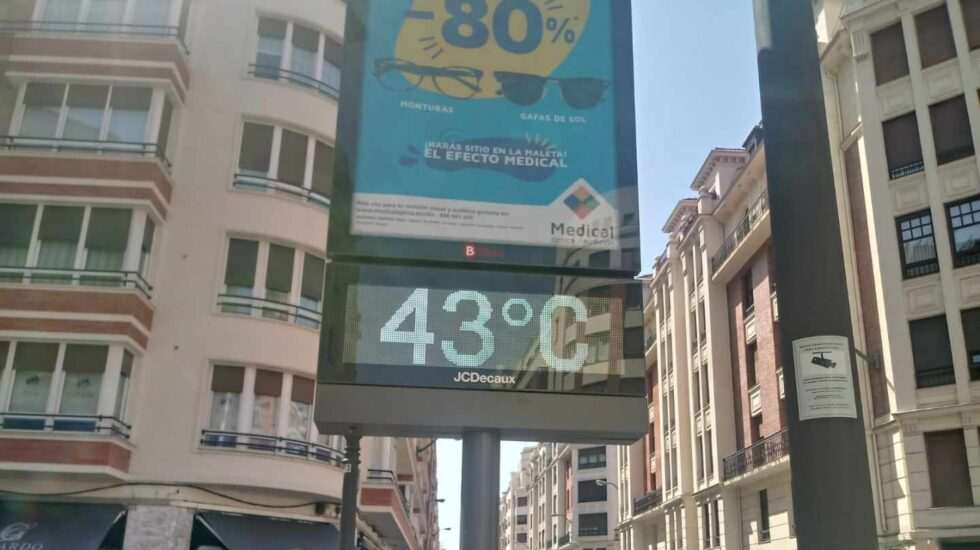 Ola de calor en el País Vasco: temperaturas de 43 grados.