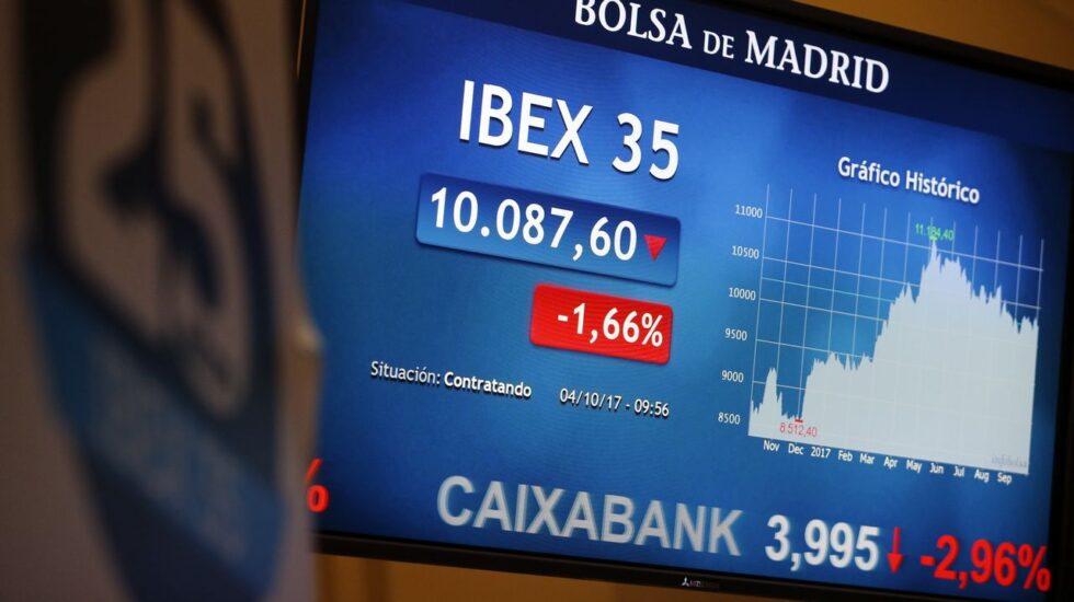 La banca sucumbe al mazazo de los tipos negativos: Bankia, CaixaBank y Bankinter se hunden en mínimos de tres años.