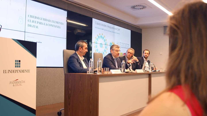 La ciberseguridad fue analizada en la última edición de Conversaciones con El Independiente
