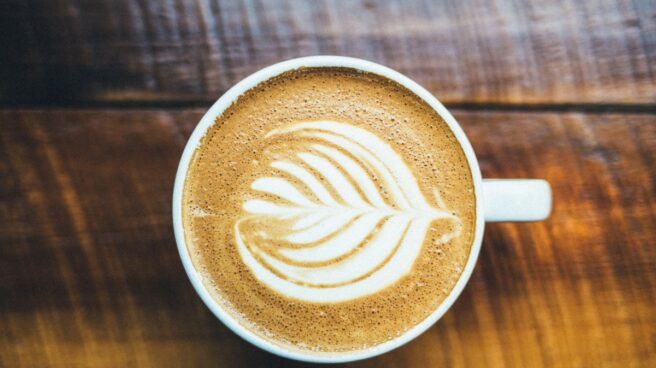 Taza con café