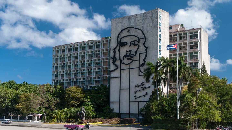 La Plaza de la Revolución de La Habana.