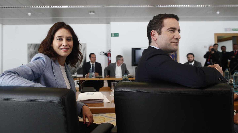 Isabel García Ayuso y Teodoro García Egea.