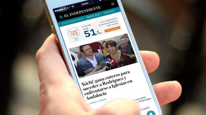 El Independiente en el móvil