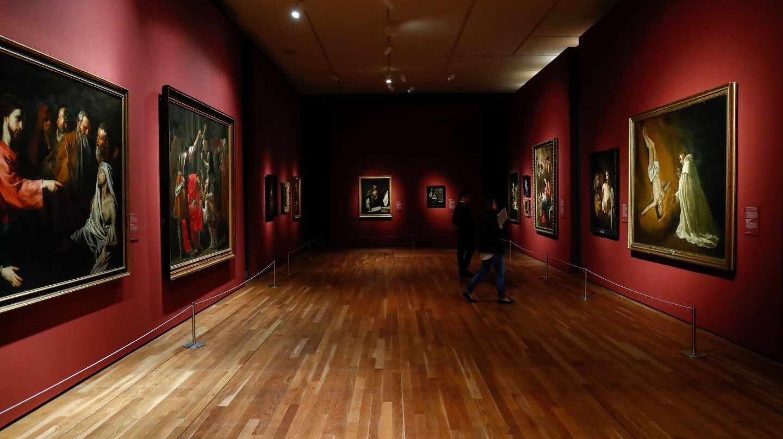 Una de las salas de la muestra en el Museo del Prado.