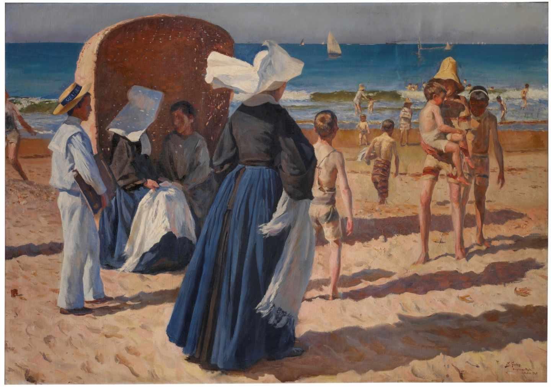 Playa de Chipiona, Federico Godoy.