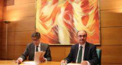 El PSOE cierra un acuerdo con el PAR para el gobierno de Aragón