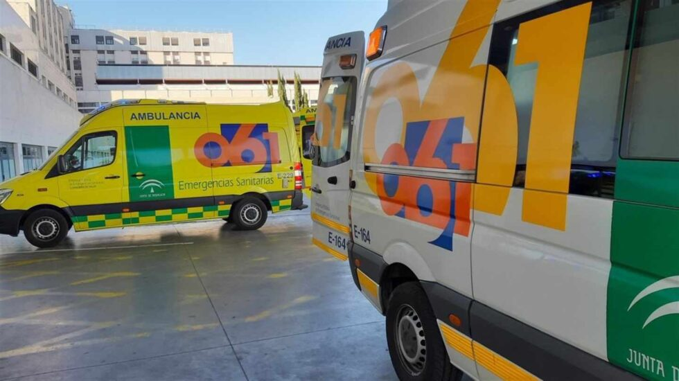 Vehículos de emergencias sanitarias de Andalucía