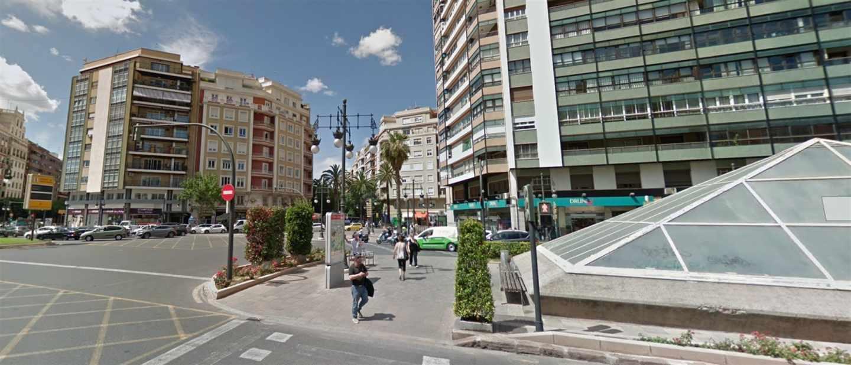 Imagen de archivo de la plaza de España de València