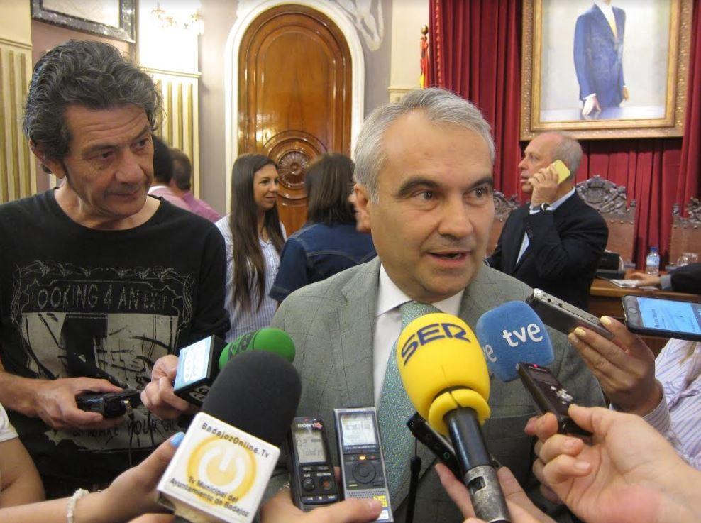 Francisco Fragoso, candidato del PP en Badajoz.