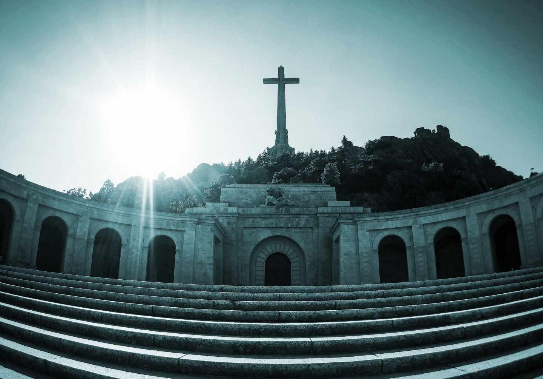 Panorámica de la abadía del Valle de los Caídos.