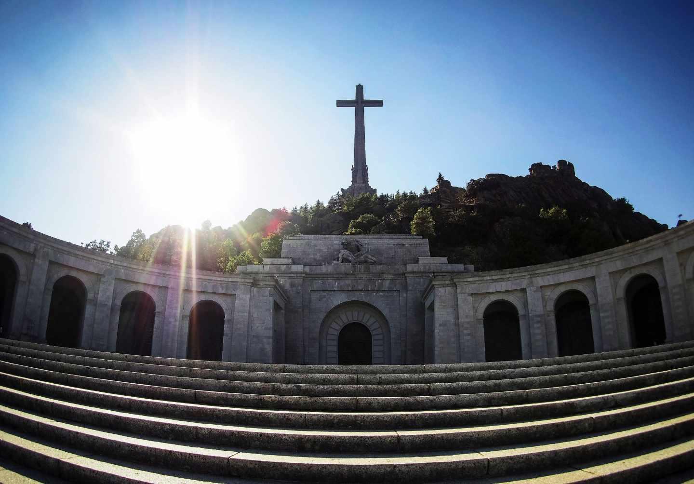 Panorámica de la basílica del Valle de los Caídos.