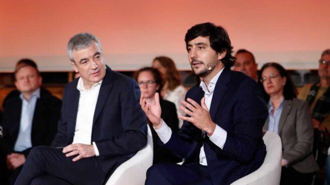 Luis Garicano y Toni Roldán.