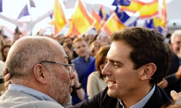 Albert Rivera junto a Francisco Igea