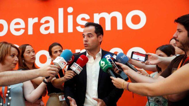 Ignacio Aguado, líder de Ciudadanos en Madrid.