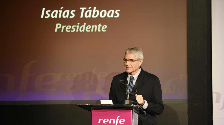 El presidente de Renfe, Isaías Taboas.