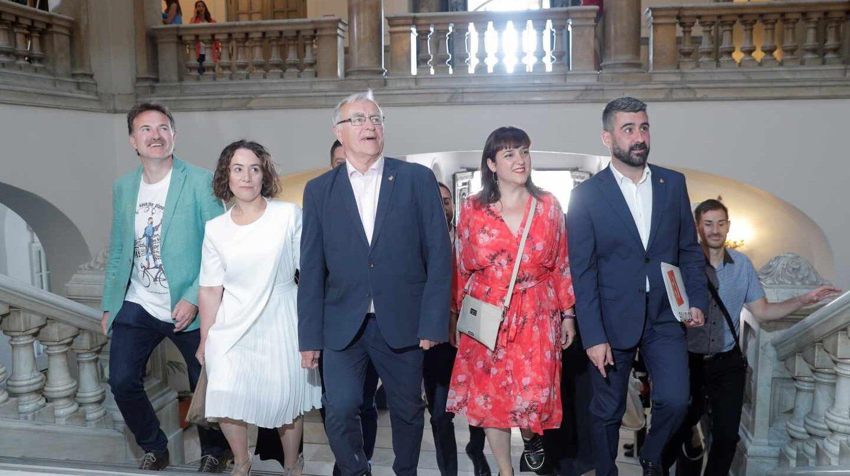 Joan Ribó, en el Ayuntamiento de Valencia.