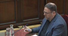 Oriol Junqueras, durante su alegato final en el juicio del procés.