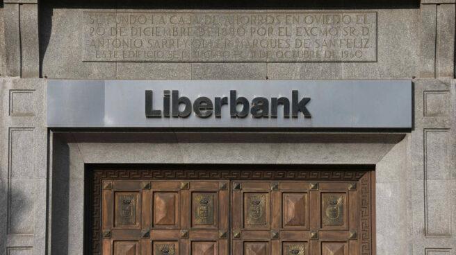 Sucursal de Liberbank en Oviedo.