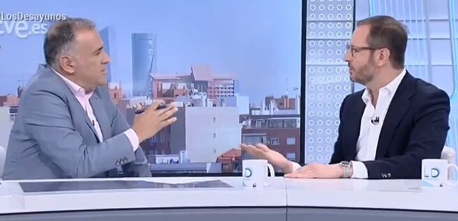 Javier Maroto, en Los Desayunos de RTVE.
