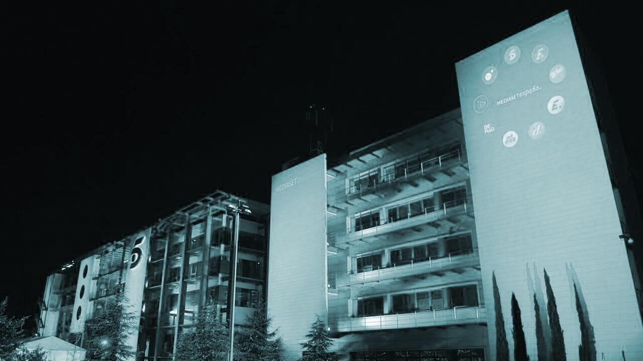 Sede de Mediaset en España.