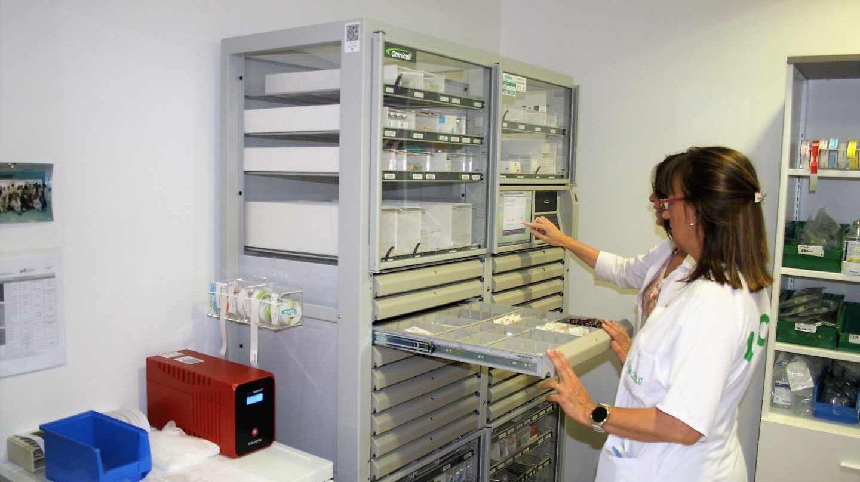 Laboratorio de medicamentos.