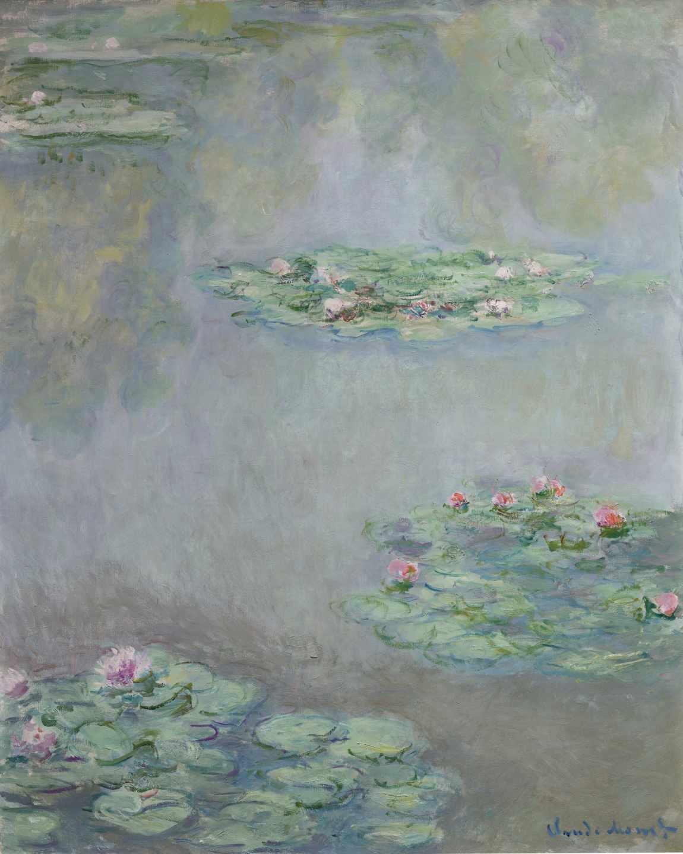 Nympheas, de Monet.