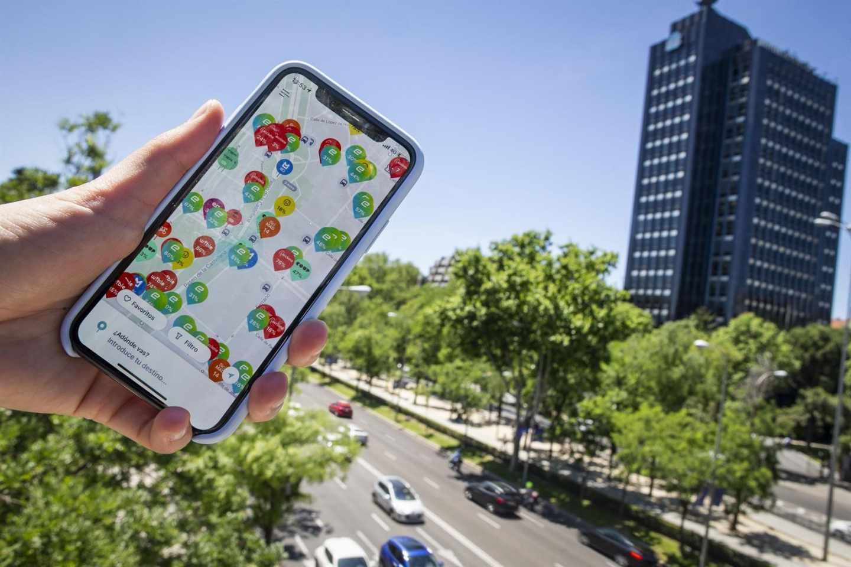 La aplicación Chipi compara en tiempo real las diferentes opciones de movilidad.